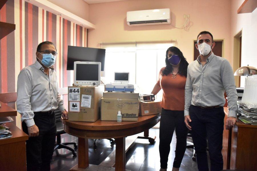 Entregaron equipamiento al hospital de Paso de los Libres
