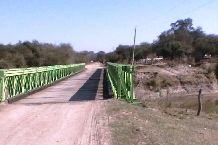 Concluyeron las obras en el puente que une Rincón de Sarandí con Pueblo Libertador