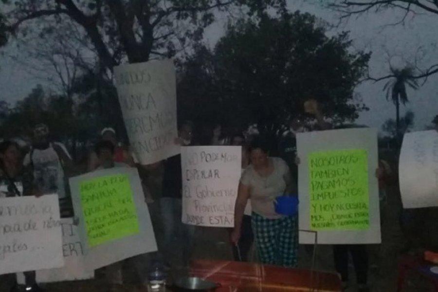 Itatí: Vigilia de puesteros a la vera de la ruta