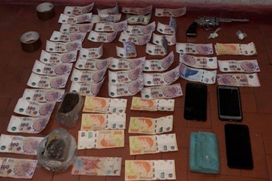 Desbarataron kiosco de drogas en Punta Taitalo
