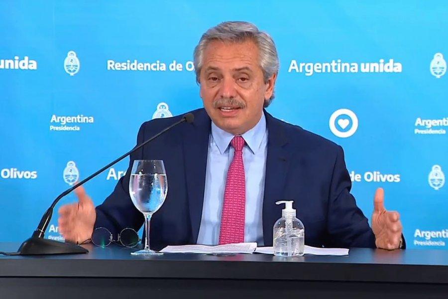 Alberto Fernández anunció que se permitirán las reuniones de hasta 10 personas al aire libre