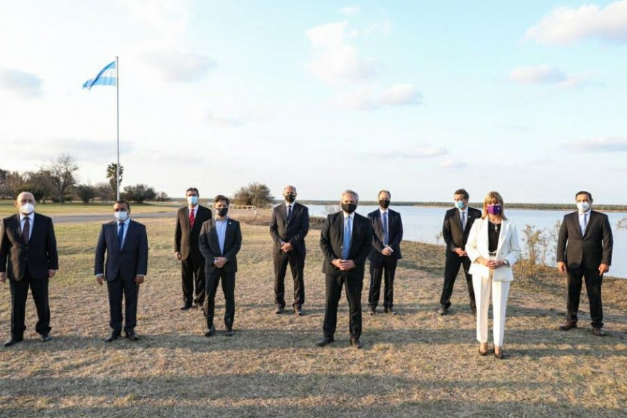 Firmaron acuerdo para la administración conjunta de la Hidrovía Paraguay- Paraná