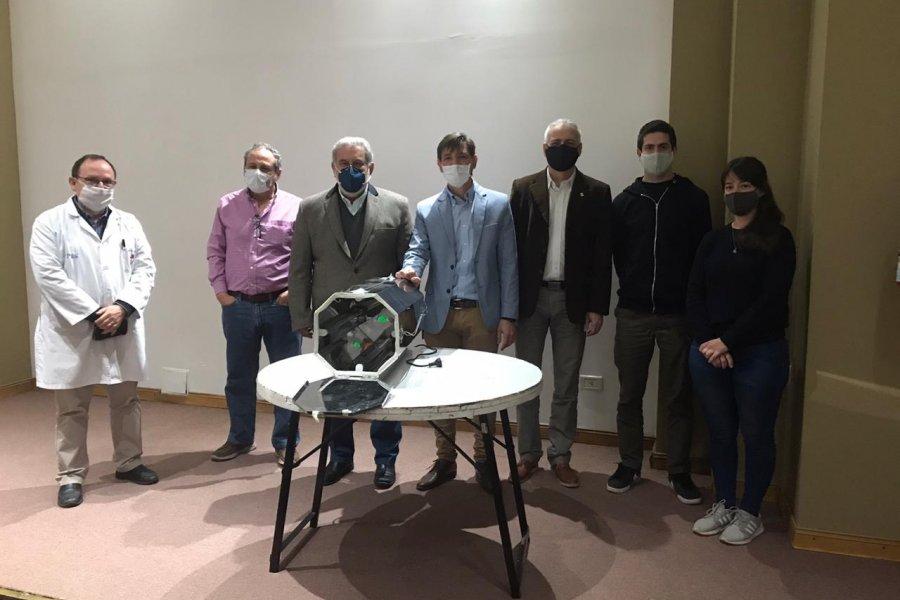 Lanzarán un gabinete UVC para la descontaminación de mascarillas reutilizables