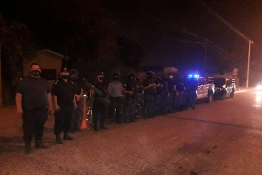 Controles: La Policía demoró a 9 personas y Tránsito secuestró 11 motos