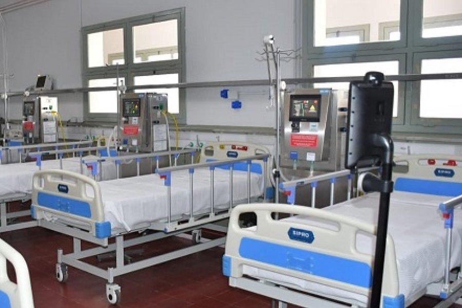 Corrientes: 60 personas están internadas en el Hospital de Campaña