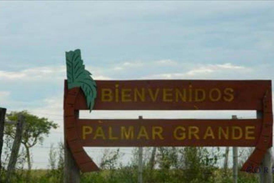 Palmar Grande no permite el acceso de turistas ni visitantes