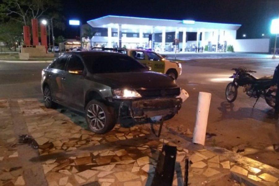 Conductor alcoholizado provocó un choque y fue agredido por vecinos:  Tenía pedido de captura