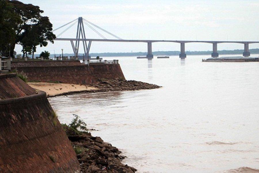 Estado de los ríos Paraná y Uruguay