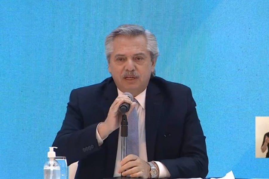 """Alberto Fernández: """"El primer desafío es reactivar el mercado interno"""""""