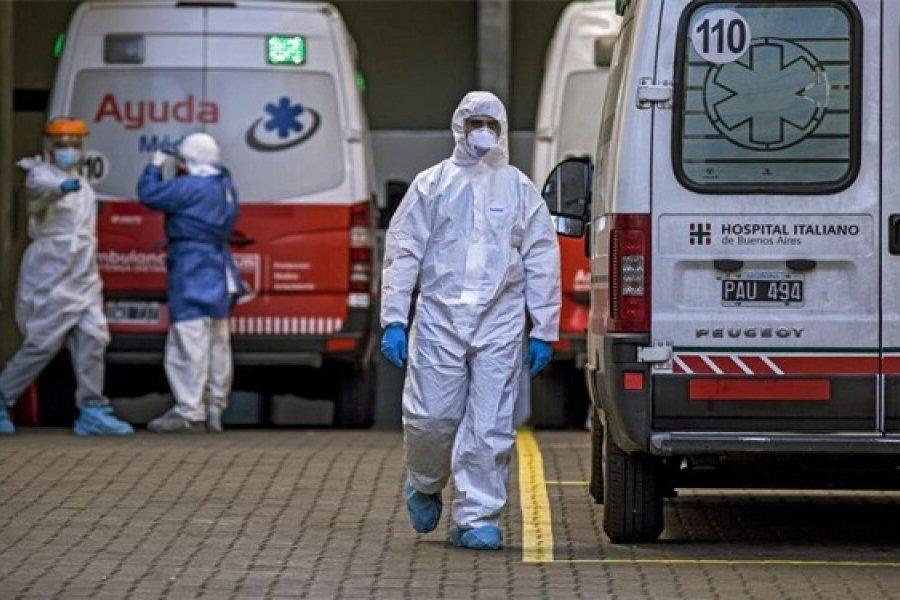 Confirman 52 nuevas muertes y ya son 8971 los fallecidos por Coronavirus en el país