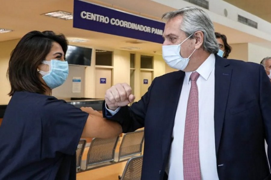Alberto Fernández: No voy a permitir el colapso del sistema sanitario