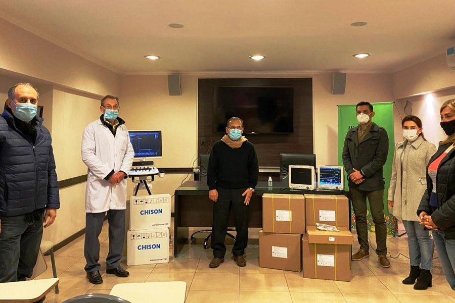 Entregaron equipamiento para fortalecer la Red de Infarto Agudo de Miocardio