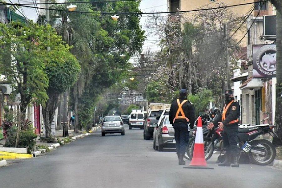La movilidad urbana descendió y reforzarán los operativos policiales