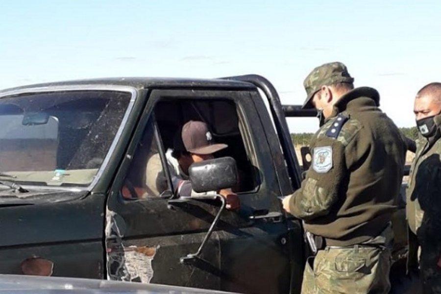 Intensos trabajos de prevención de la Policía Rural de Corrientes