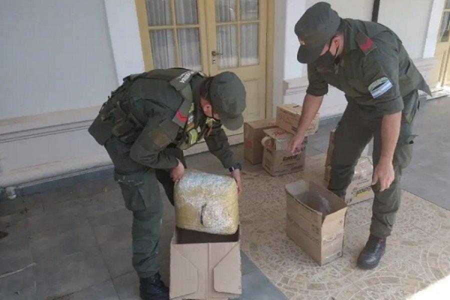 Enviaron 30 kilos de marihuana desde Corrientes a la sucursal del Correo de Comodoro Py