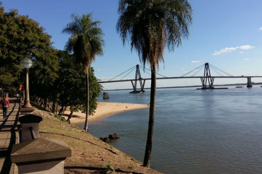 El Río Paraná continuará bajo hasta fines de octubre