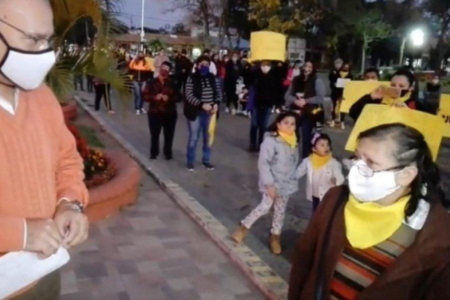 Caá Catí: Marcharon para pedir justicia por el niño víctima de abuso sexual