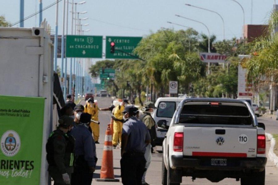 Chaqueño sin documentación fue detenido en Corrientes