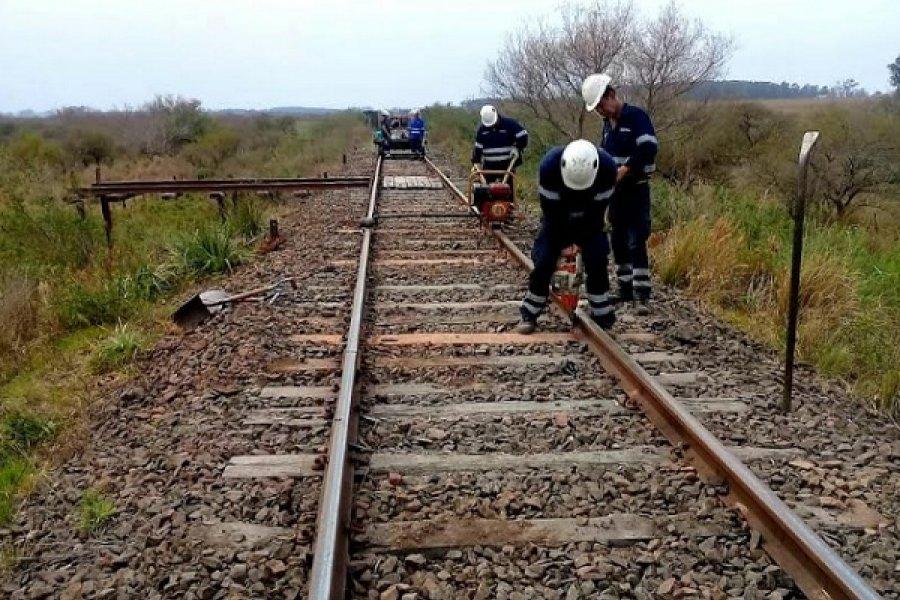 Trenes Argentinos Cargas comenzó obras en Corrientes