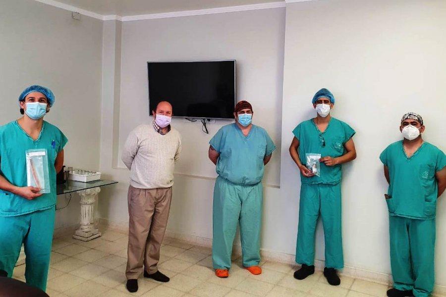 CUCAICOR coordinó el primer trasplante de hueso en Corrientes