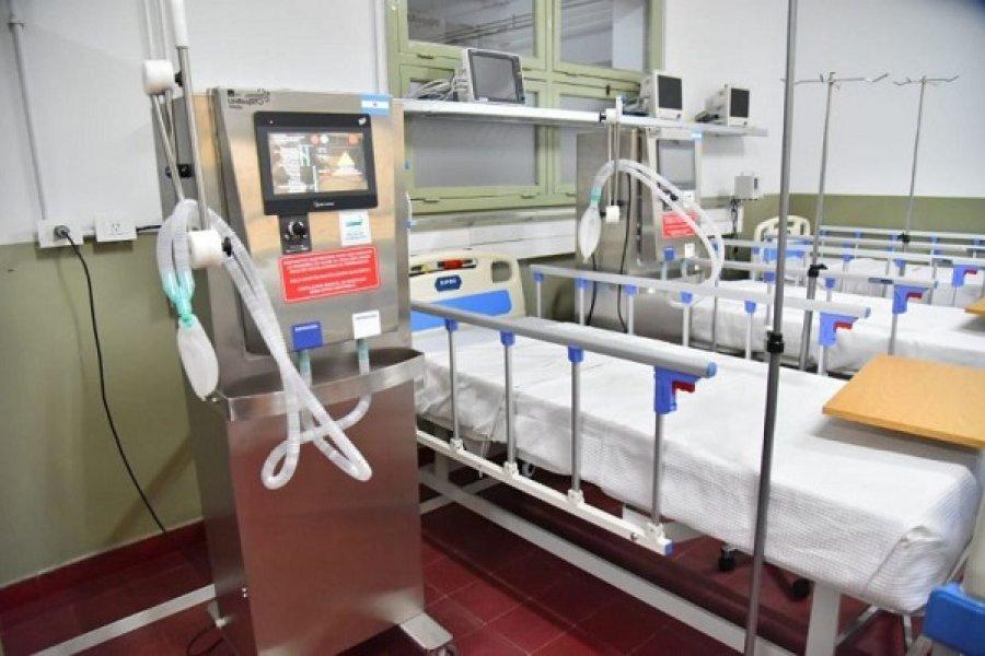 Hay 26 pacientes con Coronavirus internados en el Hospital de Campaña
