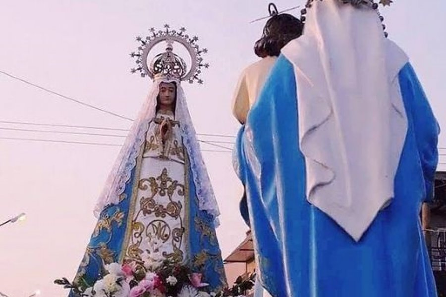 VIDEO- Peregrinos de la Virgen del Rosario realizaron una peregrinación virtual