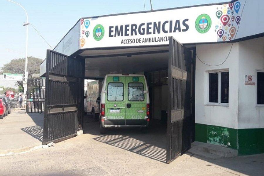 Baja movilidad en Capital: Se redujo el ingreso de pacientes en el Hospital Escuela