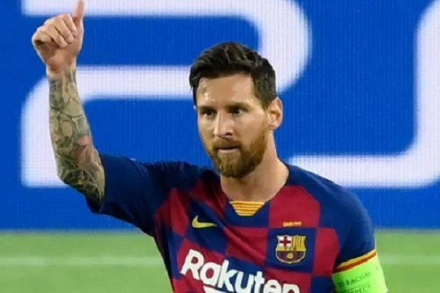 Tras el fin de la novela, Messi vuelve a los entrenamientos con el Barcelona