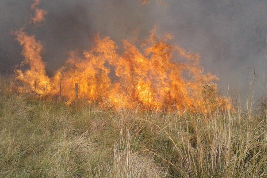Prohíben todo tipo de quemas en el territorio provincial