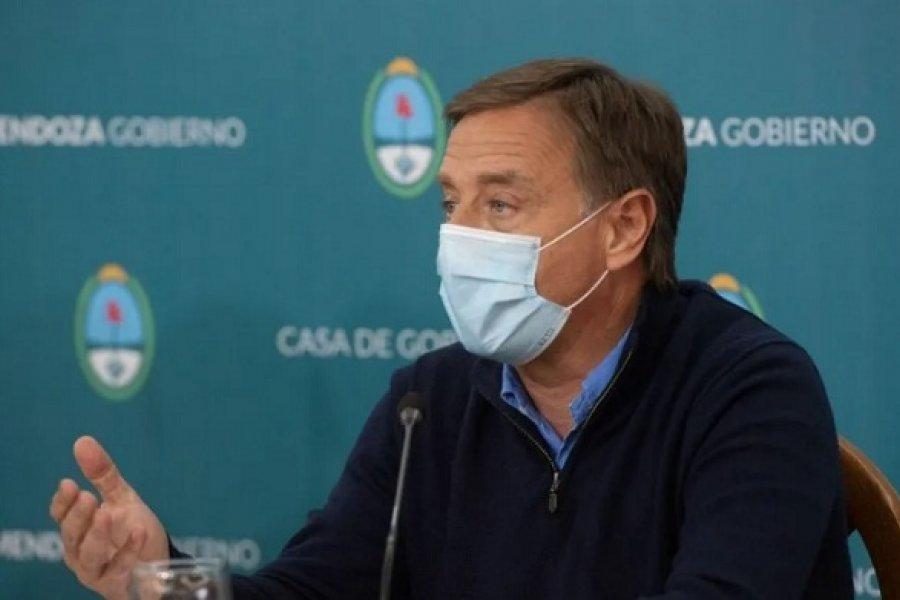 Mendoza: Aislaron al gobernador Suárez por varios casos de coronavirus entre sus colaboradores