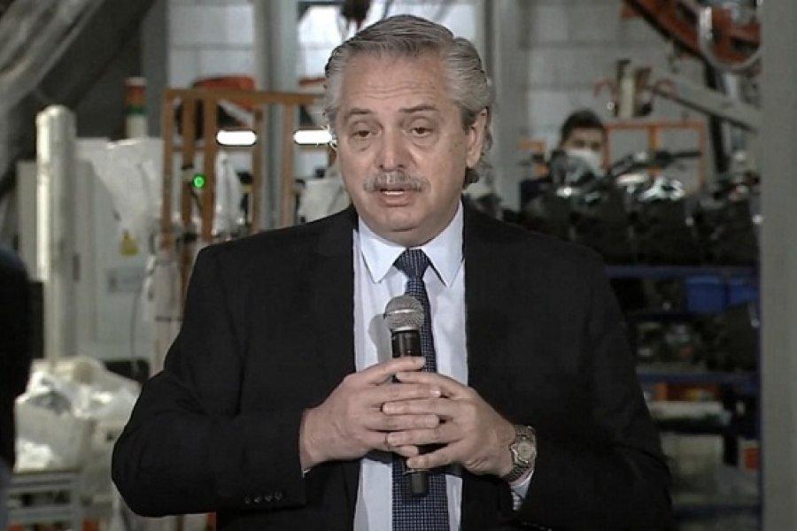 Alberto: Queremos que la economía se mueva, pero más queremos que los argentinos no se enfermen