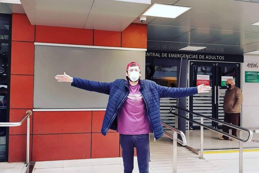 El joven itateño que recibió un trasplante bipulmonar fue dado de alta