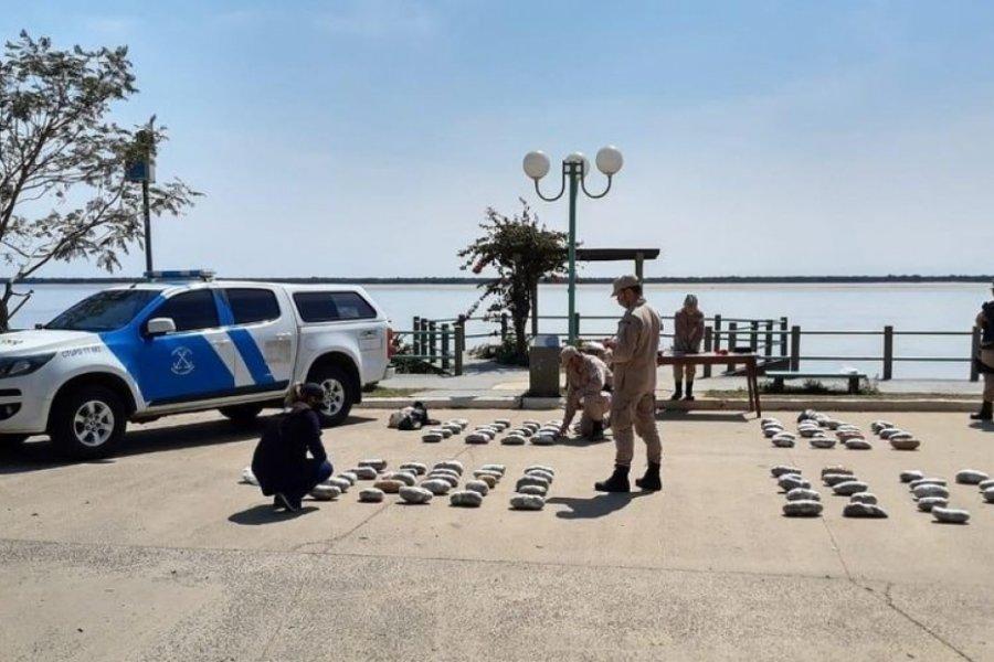 Prefectura incautó droga valuada en 4 millones de pesos