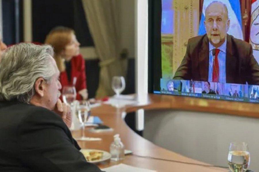 El presidente prometió a Perotti un plan de seguridad para todos los santafesinos