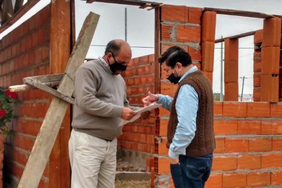 Mercedes: El Intendente recorrió obras en la Ciudad