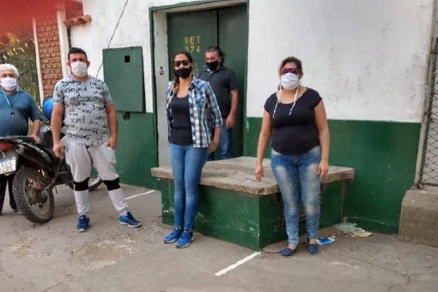 Covid en Tipoití: Trabajadores realizan retención de tareas ante la grave situación sanitaria