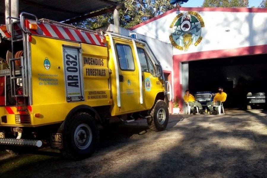 Destinan una autobomba para reforzar los combates contra incendios en la zona Centro