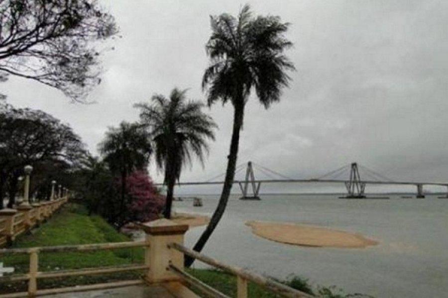 Pronostican lluvias para este viernes en Corrientes