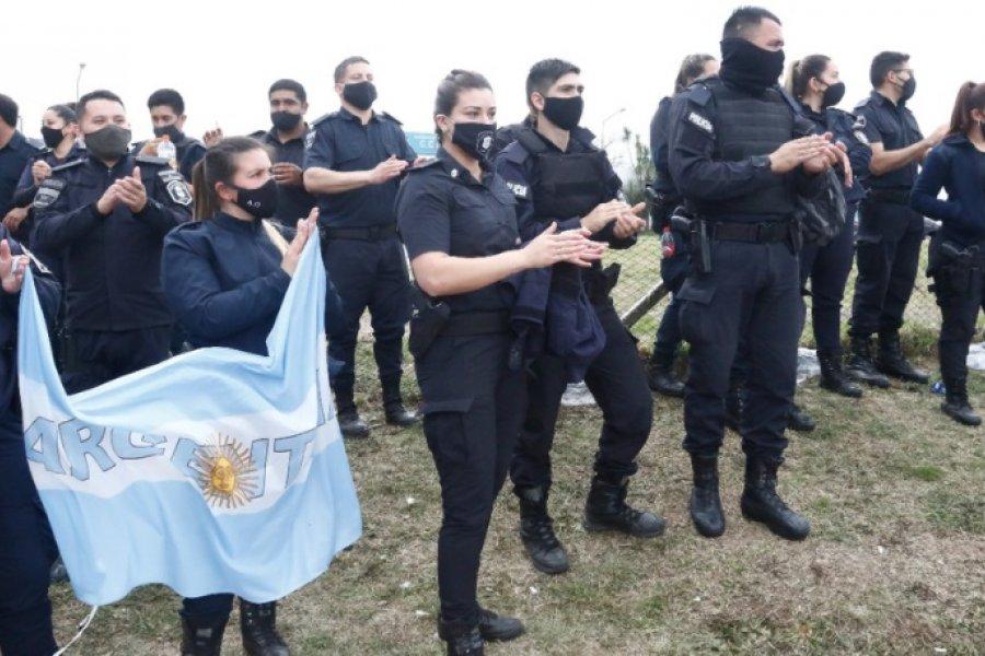 Las primeras reacciones de los policías bonaerenses tras el anuncio de Kicillof