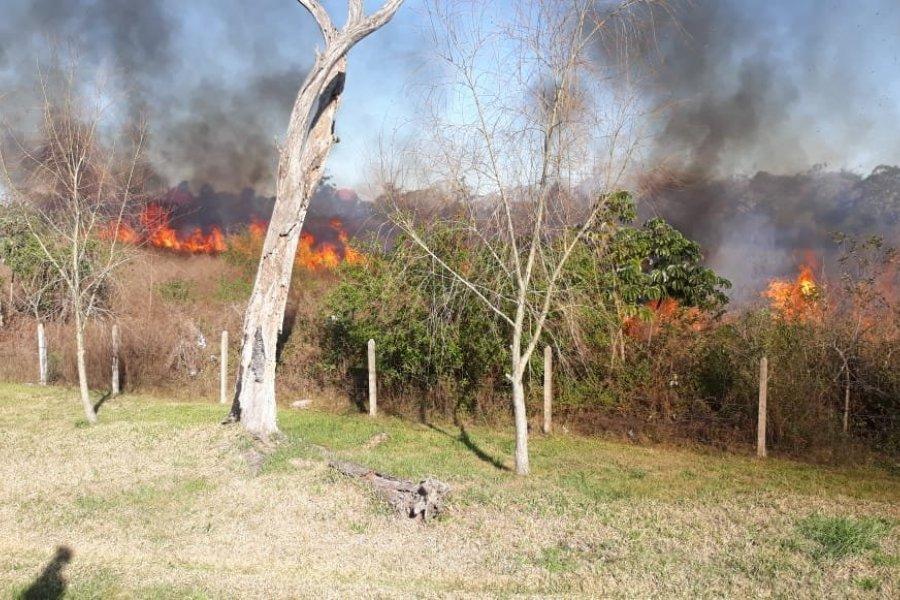 Alerta extrema por riesgo de incendios en Corrientes