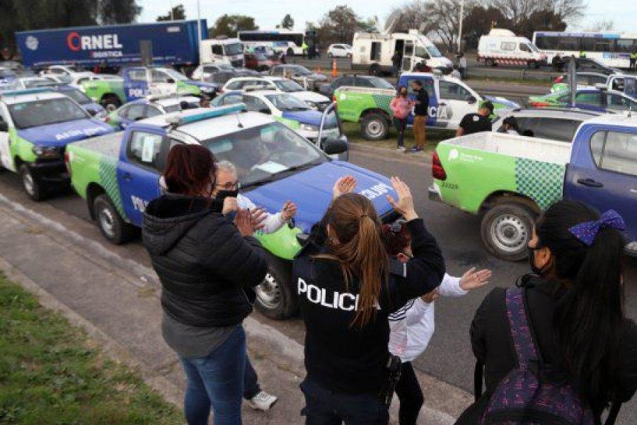 La Bonaerense levantó las protestas tras los anuncios de mejora salarial
