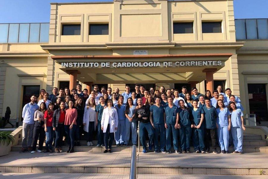 """Instituto de Cardiología: """"De esta también saldremos todos Juntos"""""""