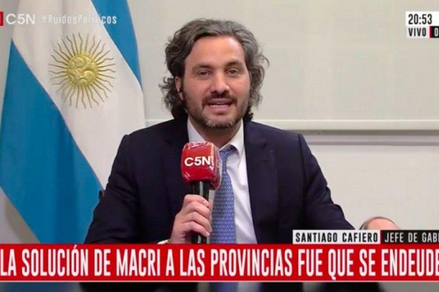 Santiago Cafiero le respondió a Larreta: Estamos reparando una inequidad de Macri