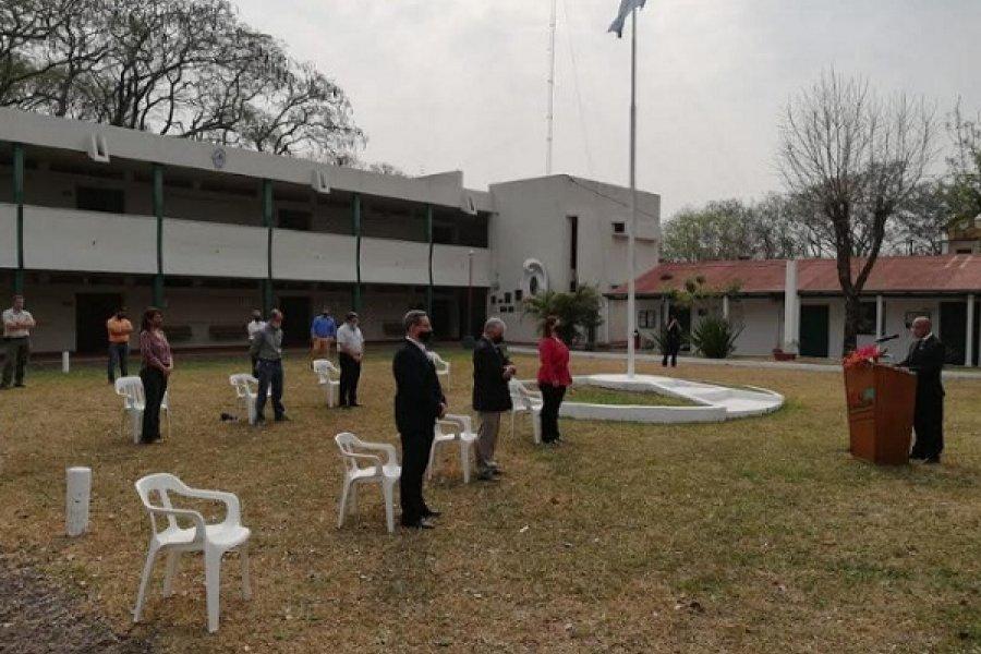 Con referencias a trazos de su historia, la ERAGIA de la UNNE celebró 100 años de vida institucional
