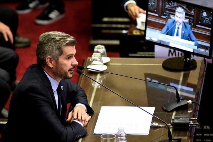 Cuando Marcos Peña defendía los decretos que modifican los fondos coparticipables