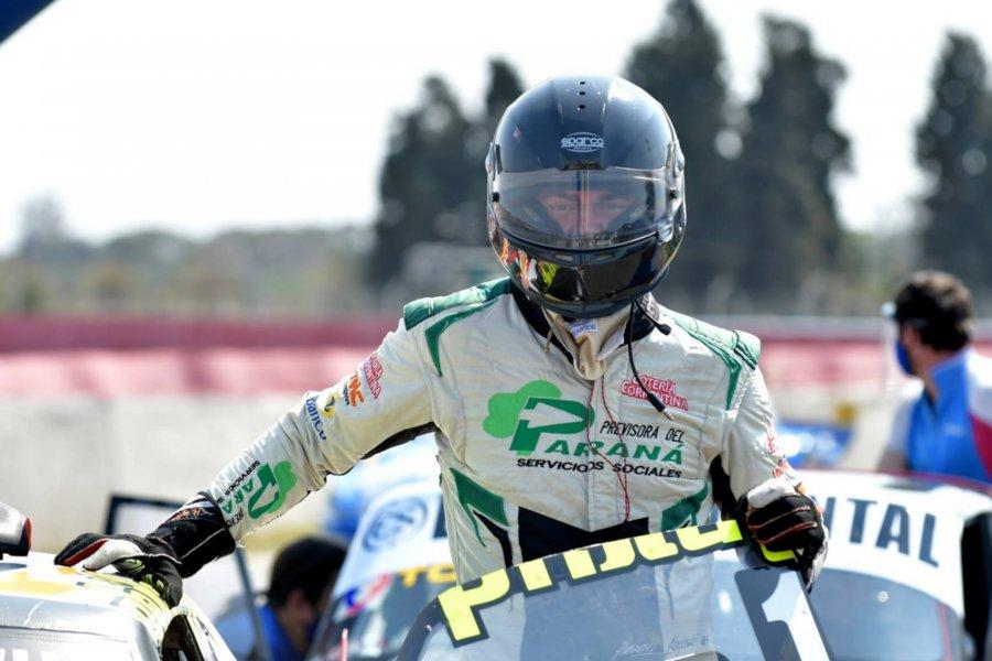 Krujoski fue noveno en la primera carrera del fin de semana