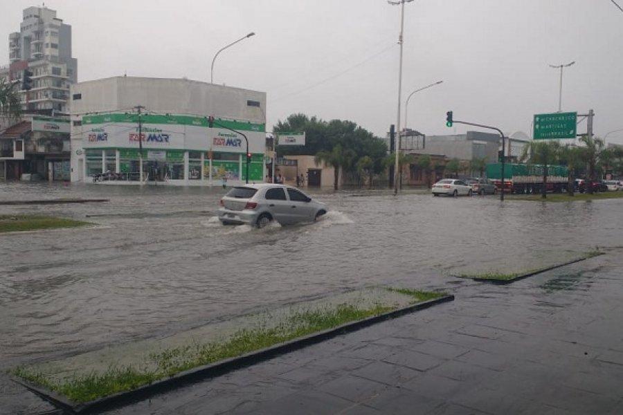 Lluvia y descenso de temperatura para Corrientes