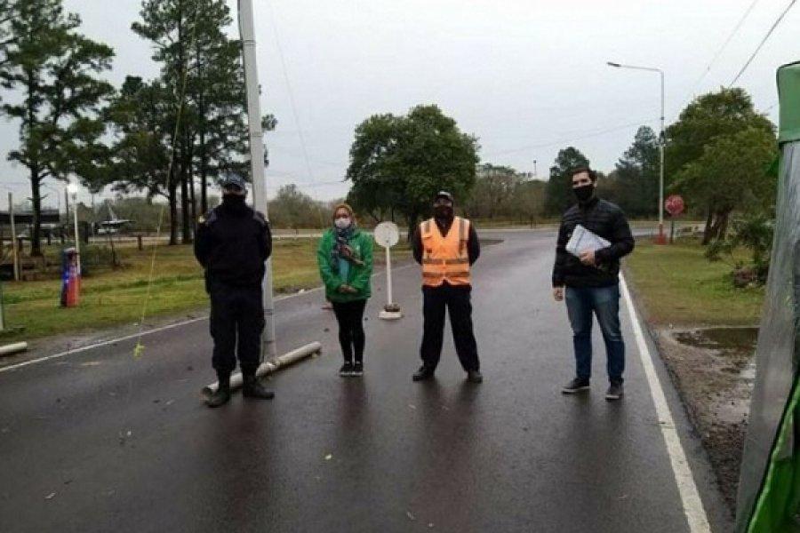 San Roque: Policías, agentes de salud y municipales aislados