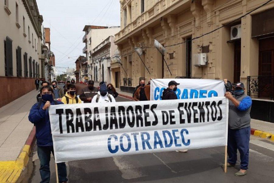 Trabajadores de eventos reclaman ayuda estatal frente a la pandemia