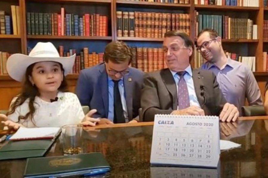Bolsonaro será denunciado por su trato ultrajante a una menor